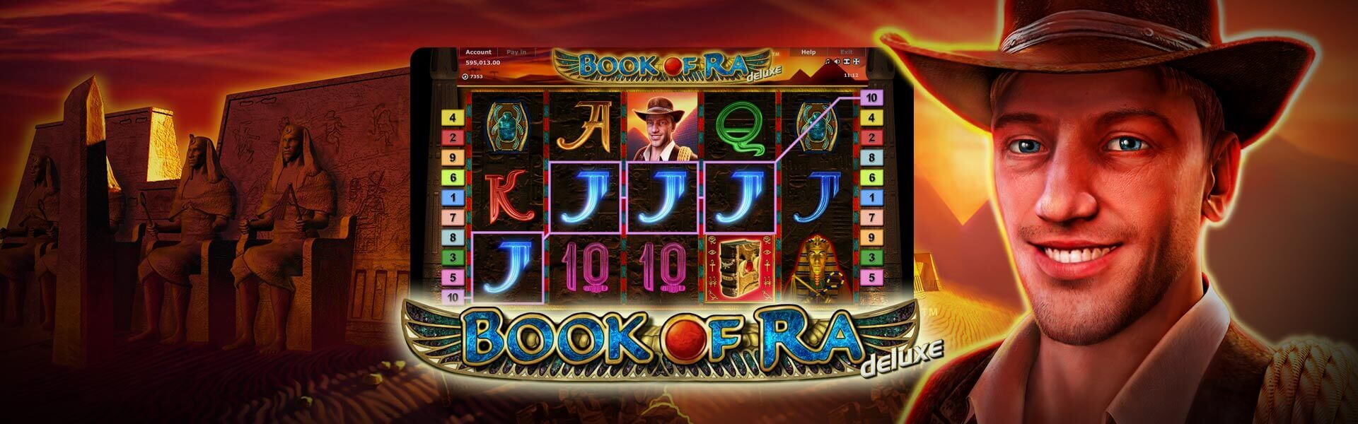 book of ra - live casinos